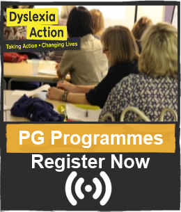 http://www.dyslexiaaction.org.uk/pgprogramme